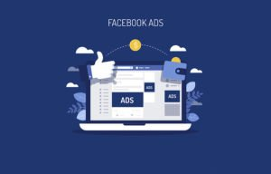 facebook advertising concept
