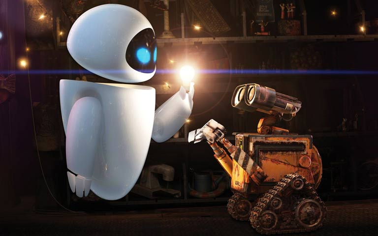 3d animation robots characters created using 3d software