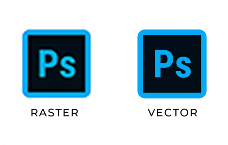 difference between raster and vector graphics